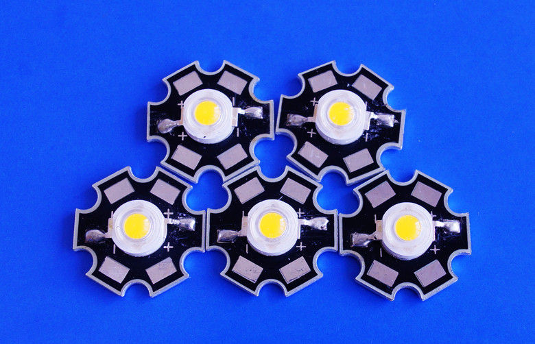 pl1982191-120lm 1w high power led warm white with star pcb
